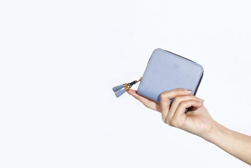 エポイ(Epoi)シキのラウンドファスナー二つ折り財布レディース