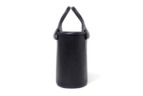 Epoi(エポイ)ツツツーミドルバケットバッグ(バケツバッグ)ネイビー